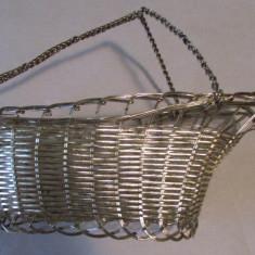 COS IMPLETIT DIN SARMA DE ALUMINIU-vintage - Metal/Fonta, Altul
