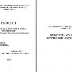 LICENTA AMF MEDICATIA APARATULUI RESPIRATOR - EXPECTORANTE (+PREZENTARE )