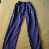 Pantaloni trening ADIDAS originali mar. M / Pantaloni ADIDAS marimea M - Trening barbati Adidas, Marime: M, Culoare: Gri