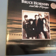 BRUCE HORNSBY and THE RANGE - THE WAY IT IS (1986 / REC/RFG ) - DISC VINIL/VINYL - Muzica Pop rca records
