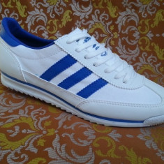 Adidasi barbati - Adidas SL alb albastru