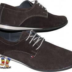 Pantofi barbati Suave PIELE intoarsa masuri 39-45