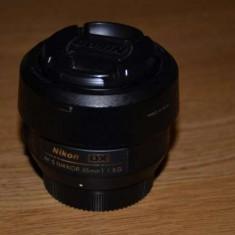 Obiectiv NIKKOR fix 35mm montura NIKON - Obiectiv DSLR Nikon, Standard, Autofocus, Nikon FX/DX