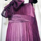 Rochie de seara Nichi violet - purtata o data