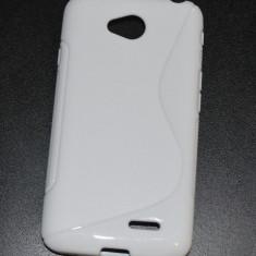 Husa Silicon Gel LG L70 S-Line Alba