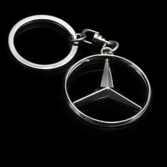 Breloc metalic Mercedes - Breloc Auto Mercedes-benz