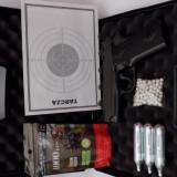 Pistol airsoft FULL METAL -COLT 1911 -PUTERNIC-1,88Joules- NOU+ Bile+Co2+Geanta