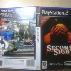 Second Sight - JOC PS2 Playstation ( GameLand - sute de jocuri ) - Jocuri PS2, Actiune, 16+, Single player