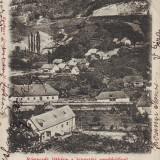 Romania, Maramures, Costiui, Ronaszek, carte postala  circulata 1902: Panorama