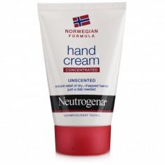 Cremă de mâini concentrată Neutrogena cu formulă Norvegiană