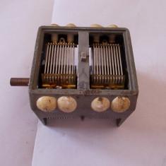 CONDENSATOR VARIABIL PENTRU RADIO