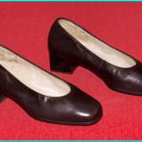 Pantofi dama, Piele naturala - NOI, DE CALITATE _ Pantofi din piele moale, frumosi, comozi, HASSIA _ nr. 37