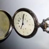Ceas de buzunar mecanic pentru nevazatori
