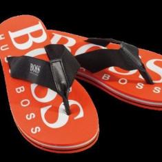Slapi copii Hugo Boss, Unisex - Slapi/papuci de plaja copii HUGO BOSS - ORIGINALI!