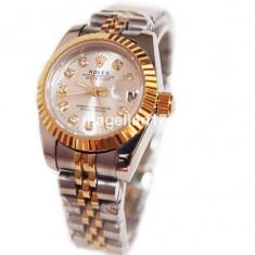 Ceas de Dama Rolex, Lux - elegant, Analog, Inox - Rolex DateJust Automatic For Ladies ! ! ! Cea Mai Buna Calitate ! Cutie Cadou !