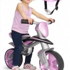 Bicicleta pentru copii - Bicicleta fara pedale Jumper Balance Bike cu casca Roz Injusa