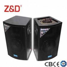 2 BOXE ACTIVE, MIXER, MP3 PLAYER USB, INTRARI MICROFOANE, EFECTE VOCE+2 MICROFOANE.