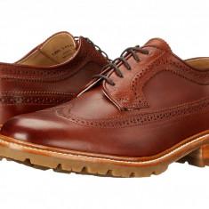 Pantofi Frye James Lug Wingtip | 100% originali, import SUA, 10 zile lucratoare - Pantofi barbati