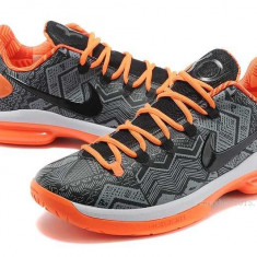 Bascheti Nike Kevin Durant 5 Low - Adidasi dama Nike, Marime: 38, Culoare: Orange