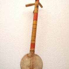 INSTRUMENT MUZICAL, BANJO, PROVENIENTA AFRICA, Vioara