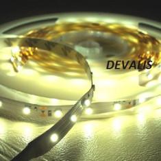 Iluminat decorativ G-View - Banda led 60 smd /ml 3528, 300 SMD PE ROLA alb cald - Non Waterproof 38 LEI ROLA