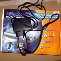 Alimentator tuner AVERMEDIA AVERTV BoxW7 - TV-Tuner PC