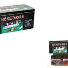 Jocuri Board games - Texas Holdem Profesional Poker Set 36x24cm