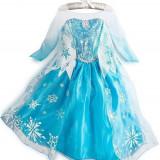 CLD13-122 Costum Halloween copii - Printesa Zapezii (Frozen Elsa)