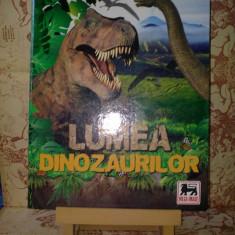 Cartonas de colectie - Lumea Dinozaurilor Mega Image Album incomplet