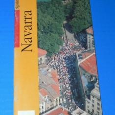 Harta Turistica - GHID TURISTIC NAVARRA SPANIA. In limba engleza