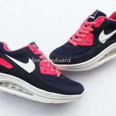 ADIDASI NIKE AIR MAX HYPERFUSE DAMA - Adidasi dama Nike, Marime: 39, Culoare: Din imagine, Textil