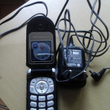 Vand telefon Motorola V180, Albastru, Nu se aplica, Neblocat, Fara procesor