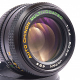 Obiectiv CHINON 50mm 1.4 Pentax K multi coated adaptabil digital - Obiectiv DSLR, All around, Manual focus