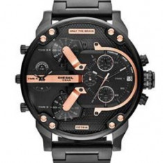 CEAS BARBATESC DIESEL ONLY THE BRAVE DZ-7312 OVERSIZE-BRATARA METALICA-MODEL2016, Casual, Quartz, Inox, Data