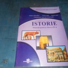 MANUAL ISTORIE CLASA IV - Curs diverse stiinte