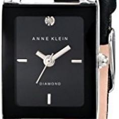 Anne Klein Women's AK 1479BKDB Diamond-Accented | 100% original, import SUA, 10 zile lucratoare af22508 - Ceas dama
