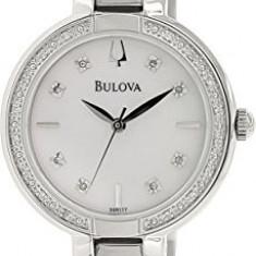 Bulova Women's 96R177 Diamond Case Watch   100% original, import SUA, 10 zile lucratoare af22508 - Ceas dama