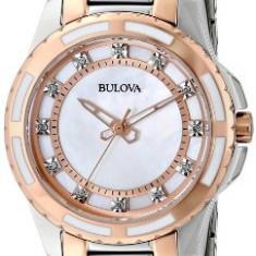 Bulova Women's 98P134 Diamond Dial Watch   100% original, import SUA, 10 zile lucratoare af22508 - Ceas dama