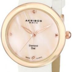 Akribos XXIV Women's AK687RGW Impeccable Swiss | 100% original, import SUA, 10 zile lucratoare af22508 - Ceas dama