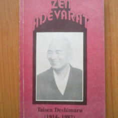 K4 Zen Adevarat - Taisen Deshimaru - Carti Budism