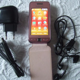 Samsung S5230W Star WiFi - Telefon mobil Samsung Star S5230, Roz, Neblocat
