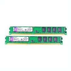 KIT Memorie RAM Kingston ValueRAM 16GB DDR3 1600MHz CL11 2x KVR16N11/8, Dual channel