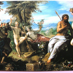 Carte postala tematica, Necirculata, Fotografie, Grecia - FELICITARE TEMATICA - LEGENDELE OLIMPULUI