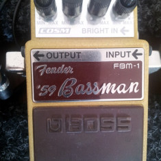 Chitara electrica - Vand pedala chitara elecrica Boss FBM-1 (Fender '59 Bassman)