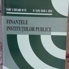 FINANTELE INSTITUTIILOR PUBLICE - MITU, ISPAS - Carte despre fiscalitate