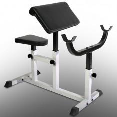 Banca Scott pentru facut bicepsi - Banca de exercitii