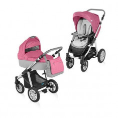 Baby Design Dotty 08 pink 2015 - Carucior 2 in 1 - Carucior copii Landou