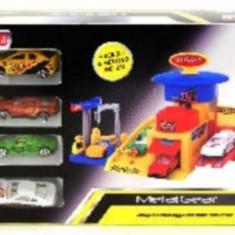 Masinuta electrica copii - Garaj Cu Masinute De Curse