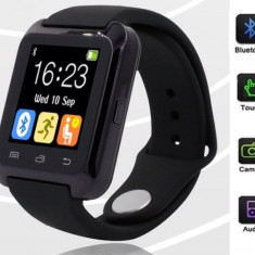 Smartwatch Tellur - SMART WATCH Ceas inteligent Bluetooth U80 iPhone IOS Samsung Android
