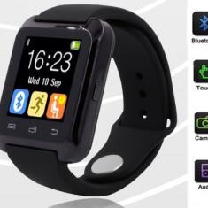 SMART WATCH Ceas inteligent Bluetooth U80 iPhone IOS Samsung Android - Smartwatch Tellur